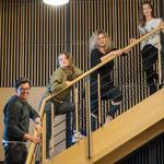 Fabian Kühlein, Anne Ratte-Polle, Gesine Danckwart, Judith Rosmair (c) rbb_te